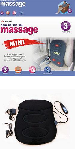 Мини-накидка массажер с разогревом (в автомобиль и дома)