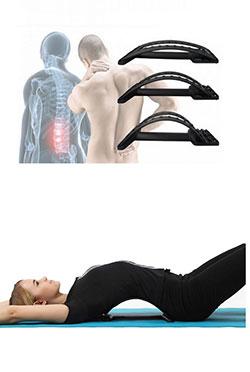 Ортопедический реклинатор для лечения остеохондроза с массажем
