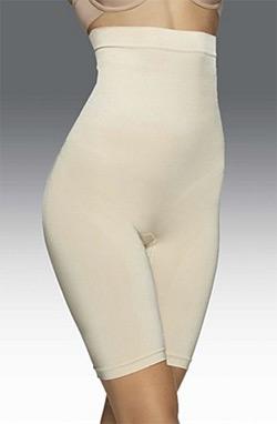 Женские моделирующие шорты с высокой талией