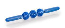 Массажер тройной с ручкой M-403