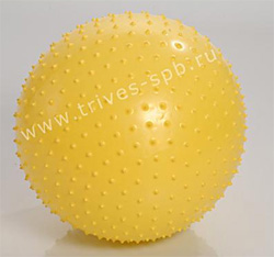 Azuni Massageball - гимнастический фитбол с шипами 55см