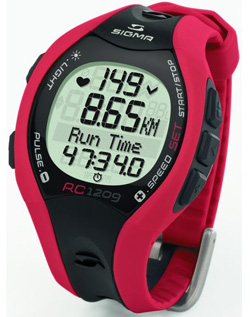 Измеритель сердечного ритма СигмаСпорт RC1209 Red