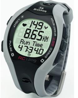 Электронный измеритель частоты сердечных сокращений Сигма Спорт RC1209 Grey