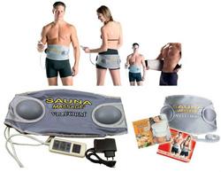Вибромассажный пояс для похудения (сауна и массаж)