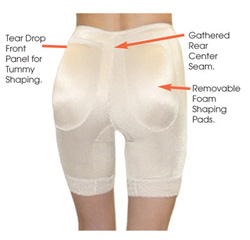 Коррекционные панталоны для увеличения попы R916