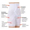 Коррекционные панталоны с завышенной талией больших размеров R6209x