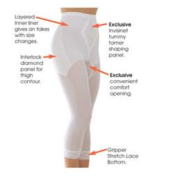 Утягивающие штаны-капри R6265xx