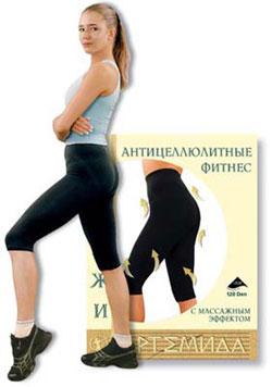 Капри с массажным эффектом противоцеллюлитные для занятий спортом Artemida
