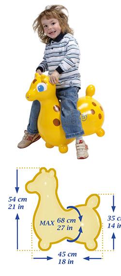 Детский мяч Жираф