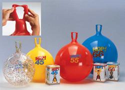 Резиновый мяч-попрыгун Hop 66 см