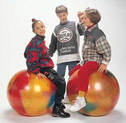 Фитбол 55 см разноцветный Bodyball