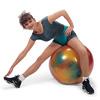 Фитбол с системой антиразрыв BodyBall яркий 65 см